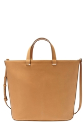 Skagen Leather Tote Sand