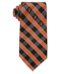 Eagles Wings Baltimore Orioles Checked Tie
