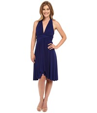Norma Kamali Convertible Dress Blueberry Women's Dress