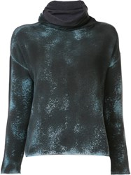 Avant Toi Turtleneck Blouse Grey