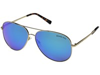 Michael Kors Kendall I Gold Turquoise Mirror Fashion Sunglasses Blue
