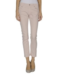 Department 5 Denim Pants Light Pink