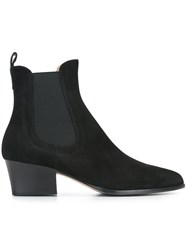 Unutzer Pointed Toe Boots Black