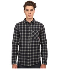 Altamont Santaromana Long Sleeve Flannel Navy Men's Clothing