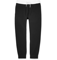 Calvin Klein Two Tone Jersey Sweatpants Black