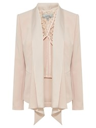 Coast Myalee Draped Jacket Blush