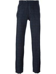 Etro Prince Of Wales Check Trousers Black