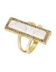House Of Harlow 1960 Bar Statement Ring