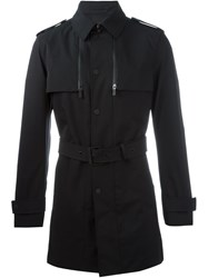 Michael Kors Trench Coat Black