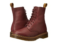 Dr. Martens Pascal 8 Eye Boot Cherry Red Virginia Women's Lace Up Boots Brown