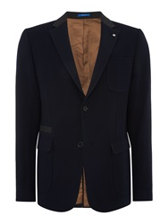 Peter Werth Hayes Button Blazer Navy