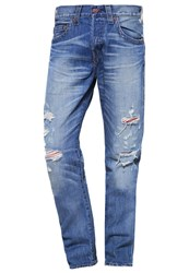 True Religion Rocco Relaxed Fit Jeans Blue Denim