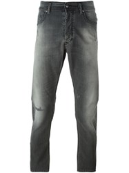 Diesel 'Carrot' Stretch Slim Jeans Grey