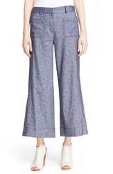 Women's Theory 'Livdale Tierra' Crop Denim Flare Pants