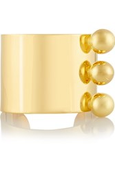 Arme De L'amour Gold Plated Cuff Metallic