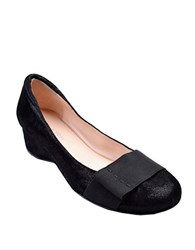 Taryn Rose Mary Leather Flats Black