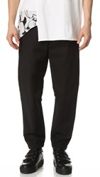 3.1 Phillip Lim Lounge Pants With Side Zipper Pockets Black