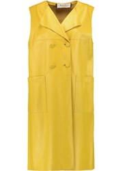 Marni Leather Vest Bright Yellow
