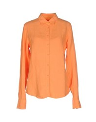 Gant Shirts Shirts Women Orange