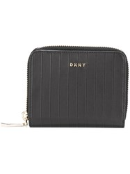 Dkny Zip Around Wallet Black