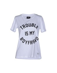 A Question Of Topwear T Shirts Women White