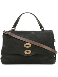 Zanellato Medium 'Postina' Tote Black