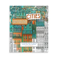 Chronicle Books Fantastic Cities Colouring Book