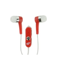 Mizco Detroit Red Wings Earbuds Team Color