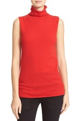 Equipment Women's Fulton Cashmere Turtleneck Shell French Red
