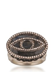 Jade Jagger Spirit Cocktail Ring Bronze