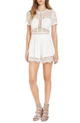 Missguided Women's Lace Inset Romper