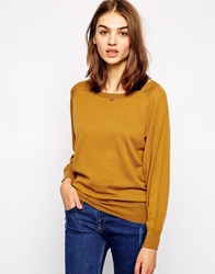 Sessun Fortunato Knitted Jumper With Buttons Tobaccobrown