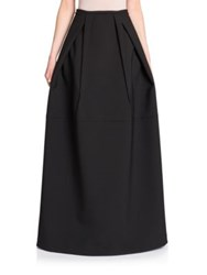 Jil Sander Pleat Detail Ball Skirt Black