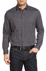 Robert Barakett Men's Drew Regular Fit Check Sport Shirt