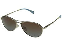 Toms Kilgore Gold Fashion Sunglasses