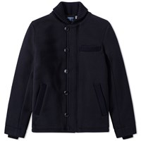 Blue Blue Japan Heavy Sweat Ma 1 Jacket Blue