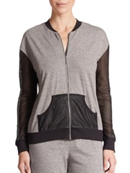 Csbla Portofino Zip Front Jacket Grey Black