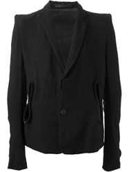 Obscur Structured Blazer Black