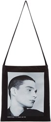 Raf Simons Black Isolated Heroes Tote