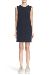 Helmut Lang Women's Snap Front Minidress