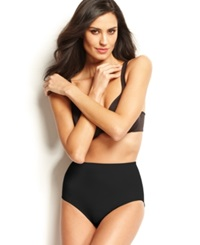 Naomi And Nicole Firm Control Soft And Smooth Comfortable Brief 7754 Black