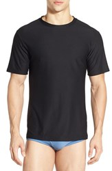 Men's Exofficio 'Give N Go' Mesh Crewneck T Shirt Black