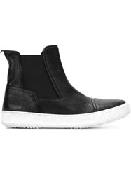 Bruno Bordese Slip On Hi Top Sneakers Black