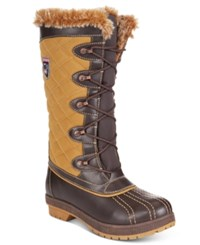 Sporto Camille Waterproof Boots Women's Shoes Tobacco