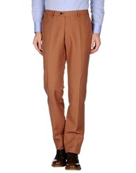 Mp Massimo Piombo Trousers Casual Trousers Men Brown