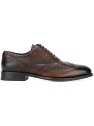 Dsquared2 Lace Up Brogues Brown