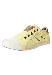 Mustang Trainers Pastellgelb Yellow