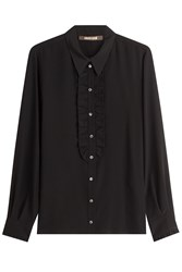 Roberto Cavalli Silk Blouse Black
