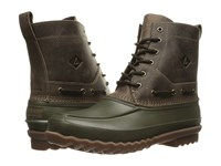 Sperry Decoy Boot Dark Green Men's Lace Up Boots