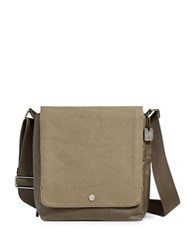 Skagen Nordberg Small Twill Messenger Bag Olive